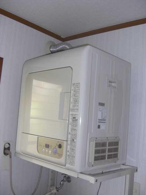 乾燥機取り換え前