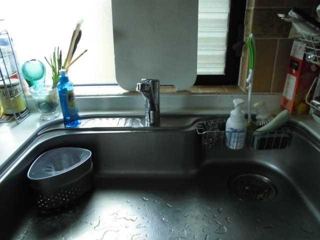 水栓取り換え後